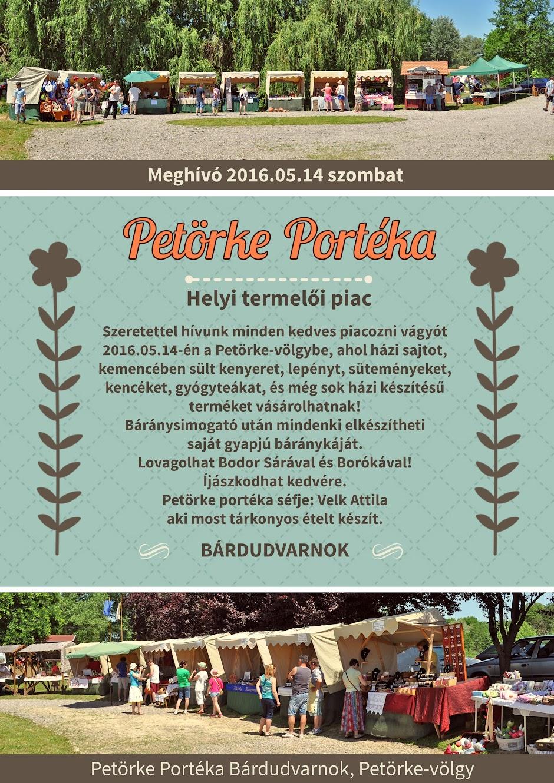 Petörke Portéka plakát