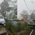 Tabrak Pembatas Jalan, Mobil Nyaris Masuk Jurang Sedalam 40 Meter