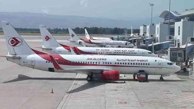 Programa de vuelos especiales de Air Algérie para este mes de agosto