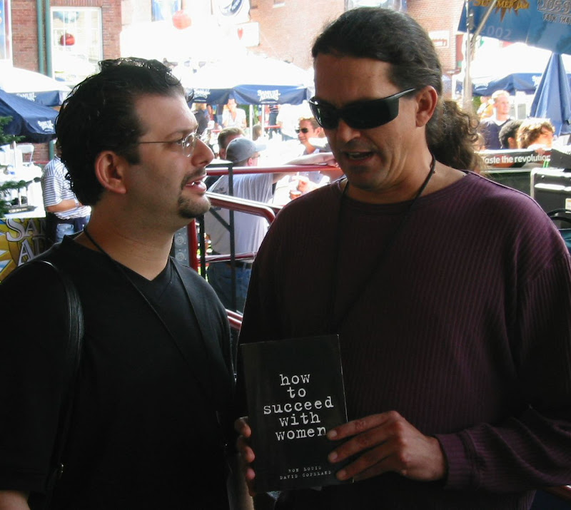 Ron Louis With Curt Kirkwood Of The Meat Puppets, David Copeland