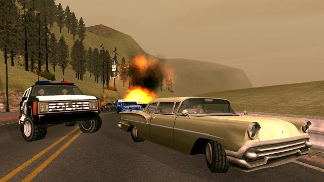 Grand Theft Auto: San Andreas có mặt trên Google Play 4