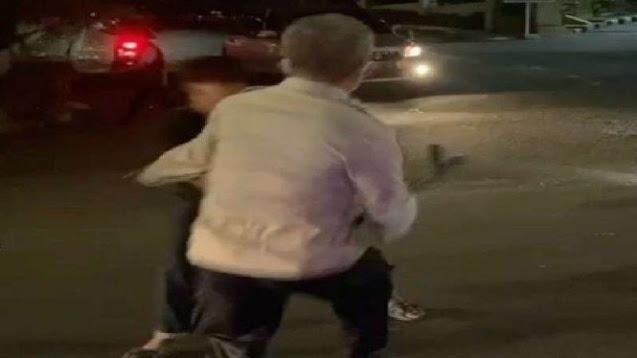 Viral Polisi Dikeroyok Geng Motor di Cilandak Jaksel