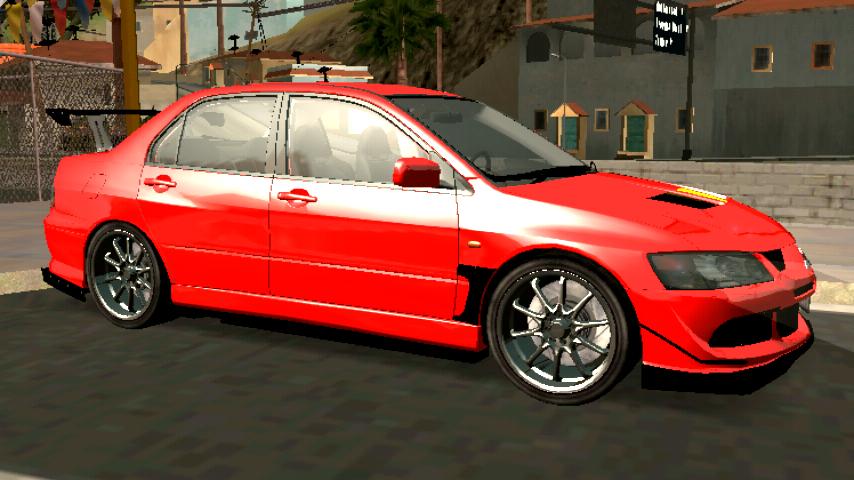 mitsubishi lancer evolution viii mr edition ~ GTA SA