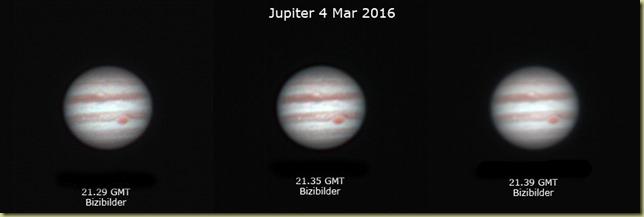 Jupiter 4 February 2016 RGB