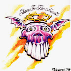 slave to the needle - Skull Tattoos Designs