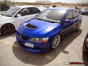 Blue Lancer EVO