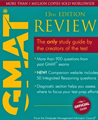 The Official Guide to GMAT.