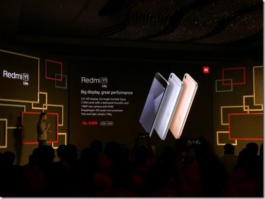Xiaomi Redmi Y1 Lite Diluncurkan, Ini Spesifikasinya
