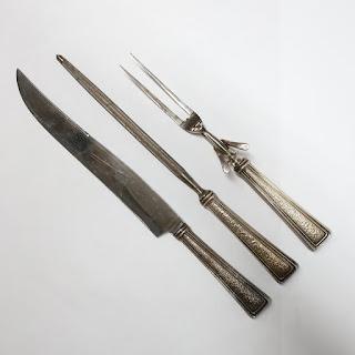 Sterling Silver Handeled Carving Set