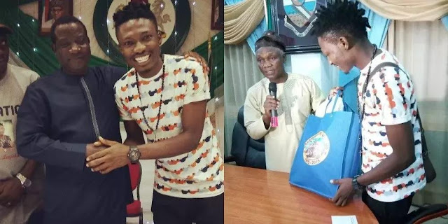 Efe flies via private jet to met Governor Simon Lalong in Jos 1