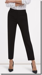 Jaeger Slim Stretch Cotton Blend Ankle Length Trousers