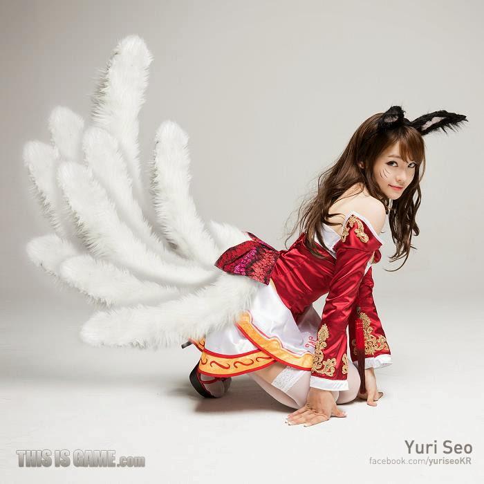 Mê mẩn với loạt cosplay LMHT của Yuri Seo - Ảnh 3
