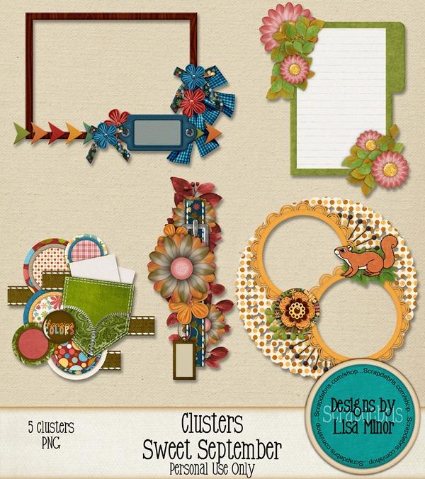 prvw_lisaminor_sweetseptember_clusters