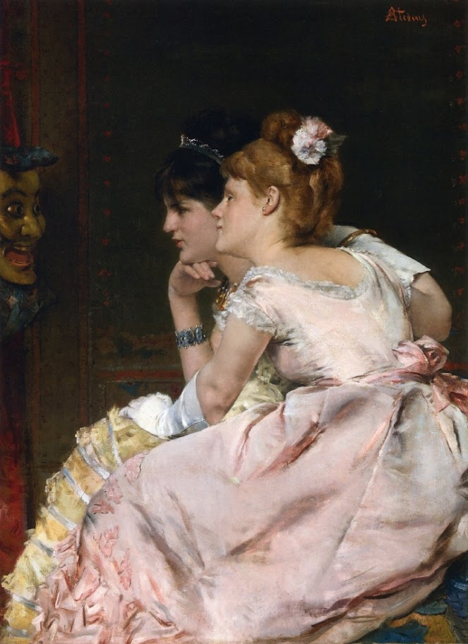 Alfred Stevens - The Japanese Mask