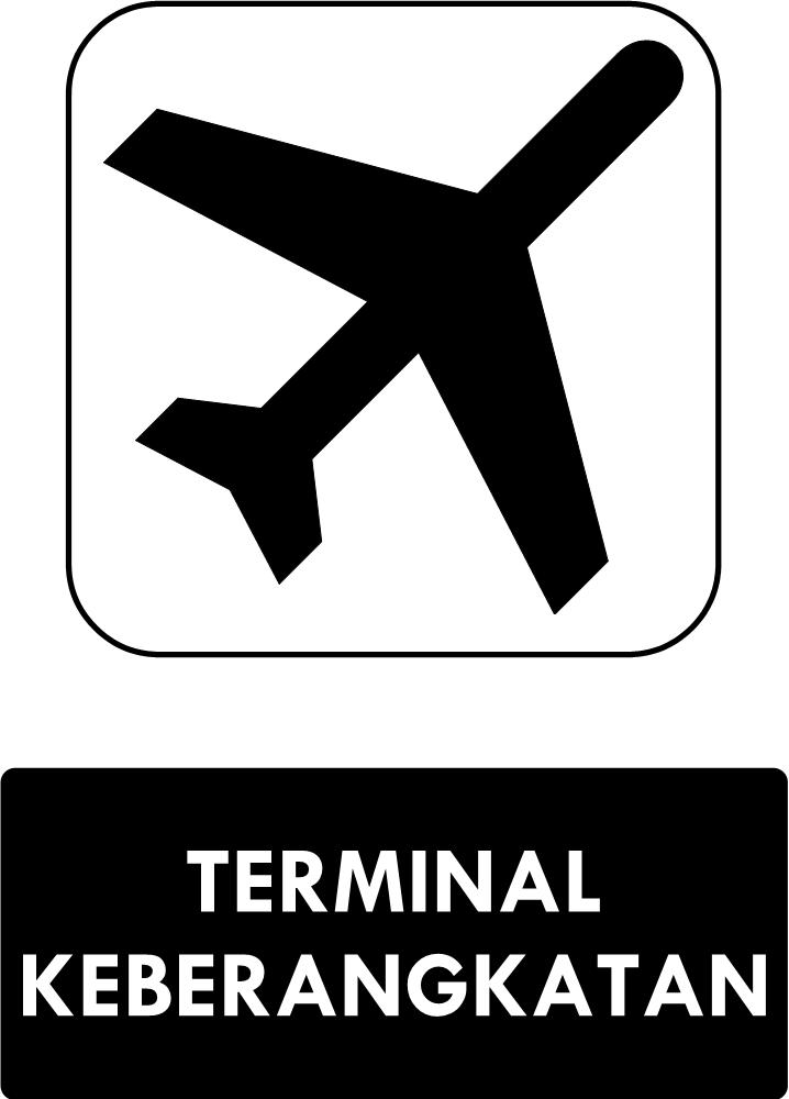 Rambu Terminal Keberangkatan
