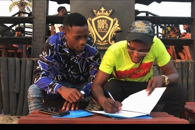 "Lagos Classic Hypeman, ""ICS"" Bags New Endorsement Deal with 100% Beach Club || Aruwaab9ja"