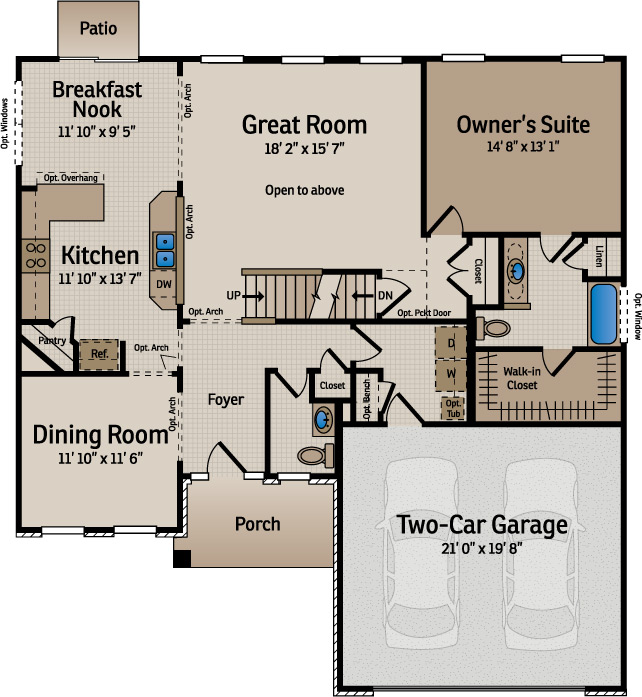 Home Builder Floor Plans Florida