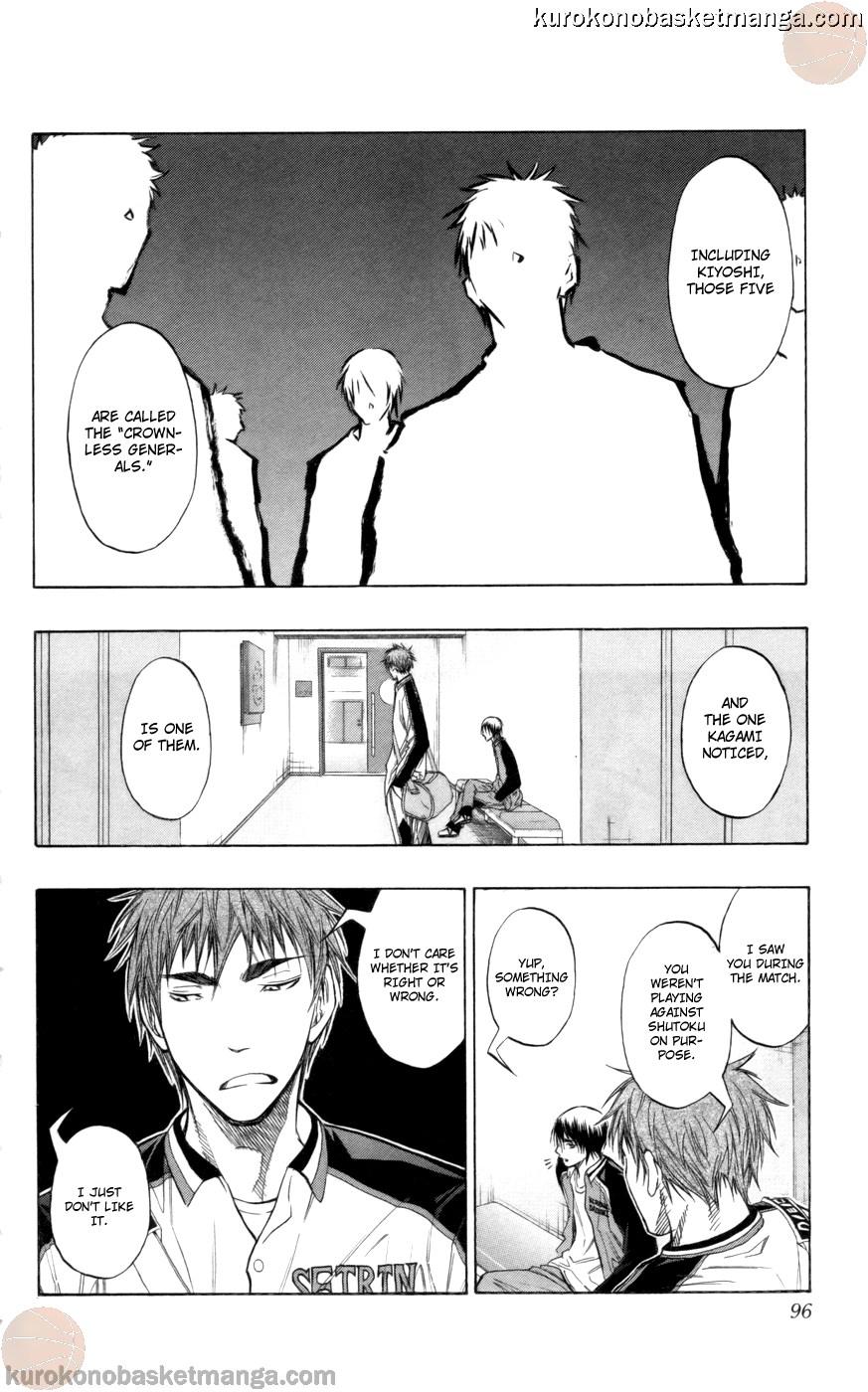 Kuroko no Basket Manga Chapter 85 - Image 10