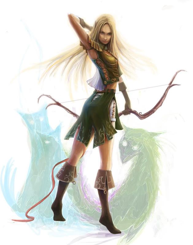 Elf Girl By Grayserg, Elven Girls