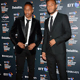 OIC - ENTSIMAGES.COM - Nathaniel Clyne and Ryan Bertrand at the  the BT Sport Industry Awards at Battersea Evolution, Battersea Park  in London 30th April 2015  Photo Mobis Photos/OIC 0203 174 1069