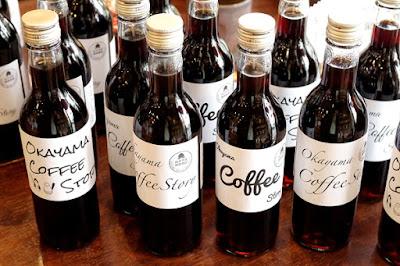 バンカオリジナル:岡山珈琲物語 360ml瓶アイスコーヒー