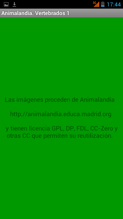 Animalandia Vertebrados 1- screenshot