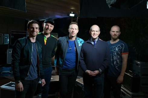 coldplay superbowl nfl interview