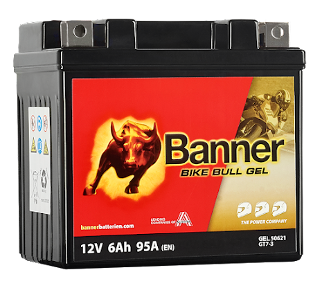 Banner Bike Bull GEL GT7-3 12V 6Ah