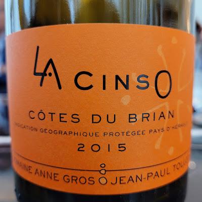 """Domaine Anne Gros et Jean-Paul Tollot  """"La Cinso"""" IGP Côtes du Brian 2015  by ©LeDomduVin 2020"""