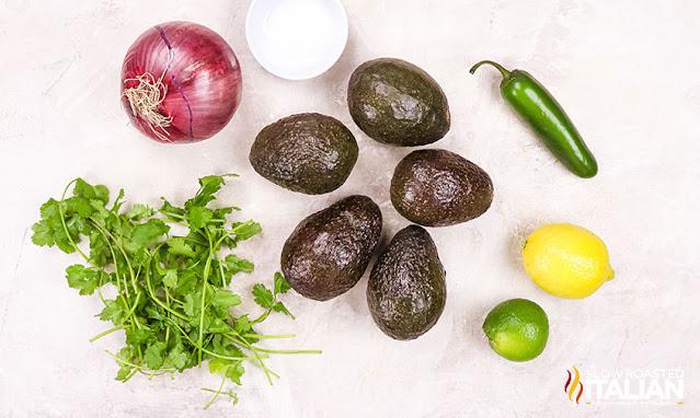 Chipotle Guac Recipe Ingredients