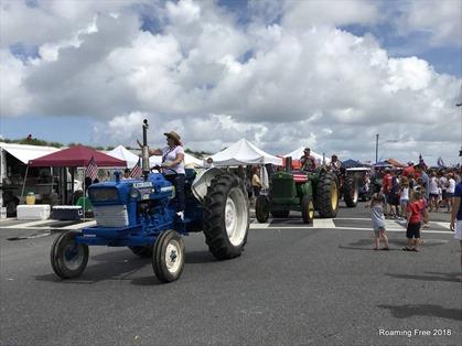Lots of tractors