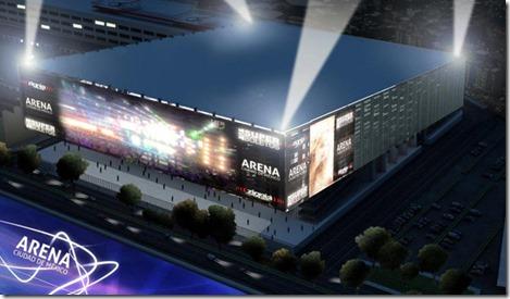 Ubicacion Conciertos y boletos Arena Ciudad de Mexico hasta adelante