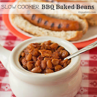 Slow Cooker BBQ Baked Beans.