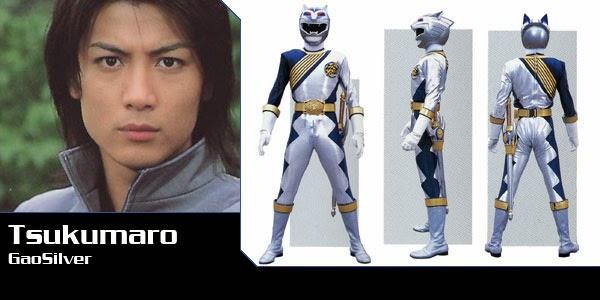 Nhân vật Tsukumaro Gao Silver trong bộ phim Gaoranger