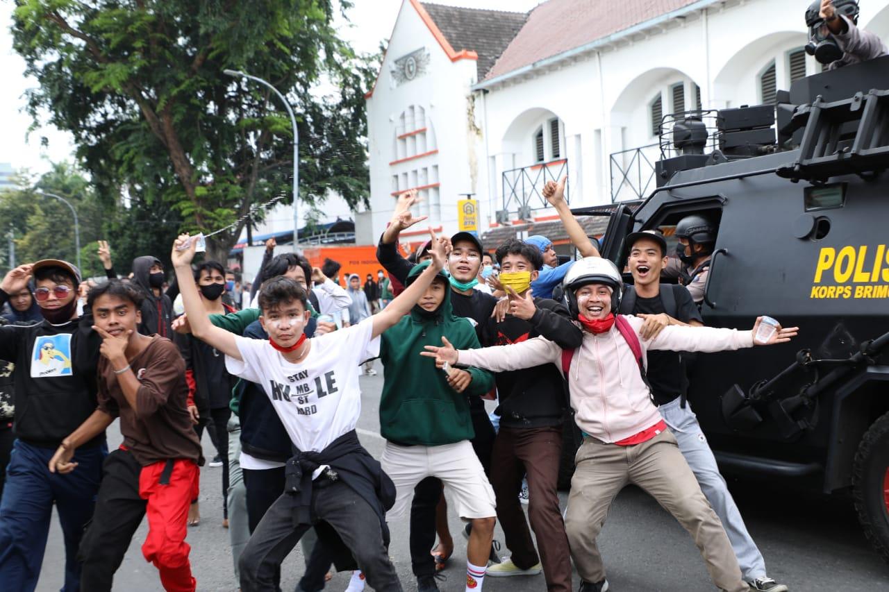 Polda Sumut Utamakan Sikap Humanis Hadapi Aksi Demo