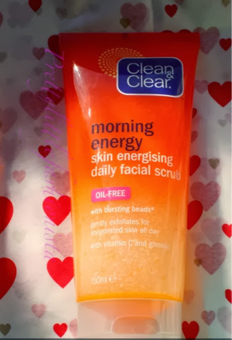 Clean and Clear Morning Energy Daily Facial Scrub