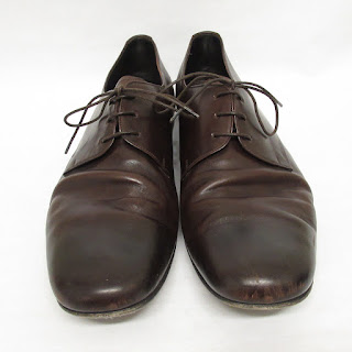 Prada Brown Oxfords