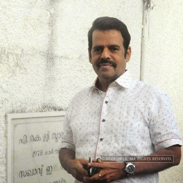 Balachandra Menon during Ghanashyama Sandhya in Trivandrum.
