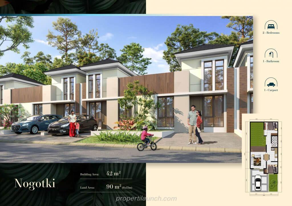Rumah Cluster Volga Citra Sentul Raya Bogor - Nogotki