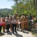 Kapolres Humbahas Resmikan Desa Siambaton Kec.Pakkat  sebagai Kampung Tangguh