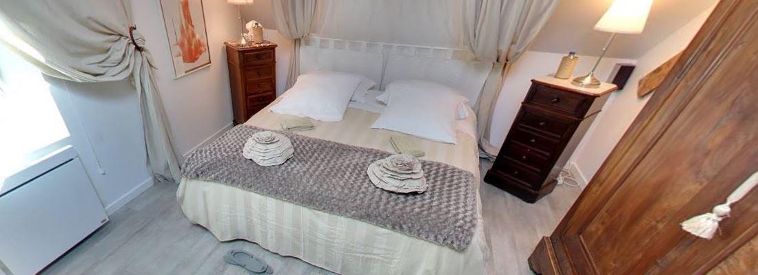 Visite virtuelle de la chambre d hotes romantique avec baignoire balneo