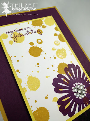 Stampin' Up! - In{k}spire_me #214, Geburtstag, Birthday, Gorgeous Grunge, Petite Pairs, Perfekte Pärchen, Mixed Bunch, Color Challenge