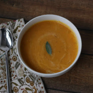 Winter Squash Soup.