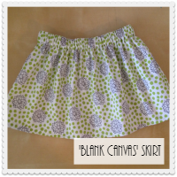 Blank Canvas Skirt