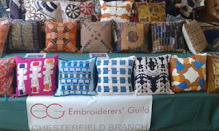 Our cushions on display at Regional Day 2017.