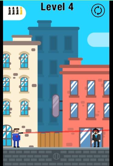 A screengrab of Mr Bullet
