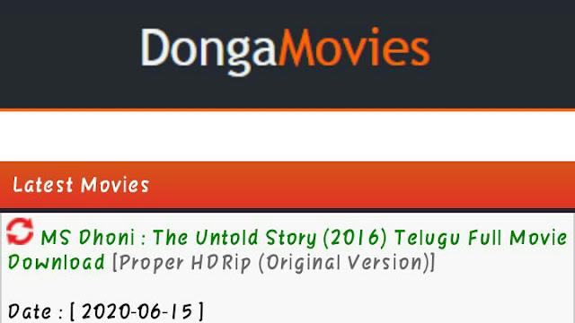 donga movies