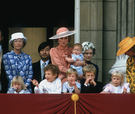 Prince Harry was one when he first joined Trooping the Colour Photo (C) Getty Images.jpg