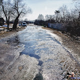 А это дорога Суворов-Ханино через Житню. Самая большая концентрация воды здесь.