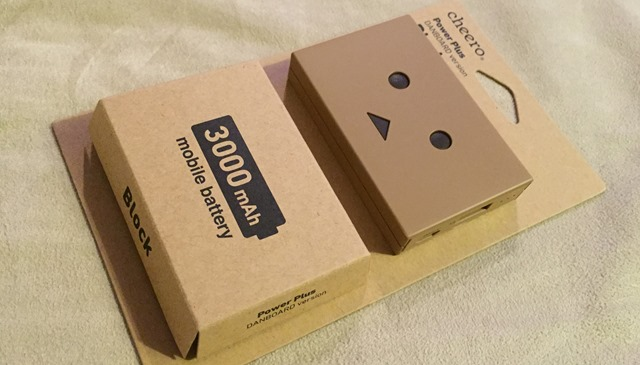 Cheero Danboard block 300mAh